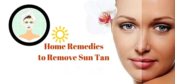11 Tips How to Remove Sun Tan on Face, Hands, Legs, Neck Naturally